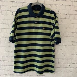 Brooks Brothers men's striped polo shirt